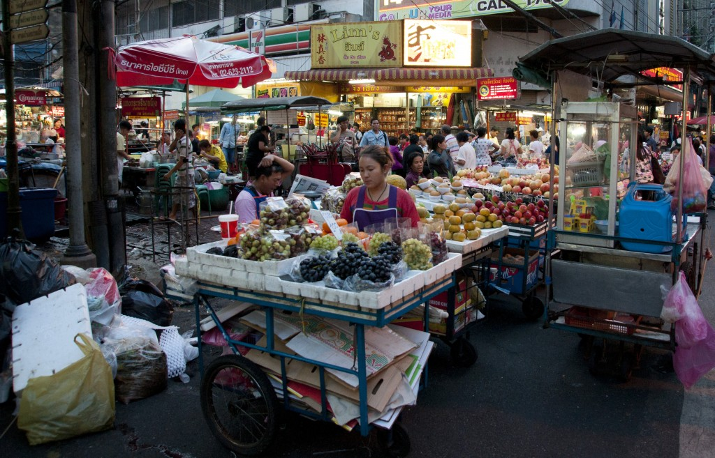Thai local market