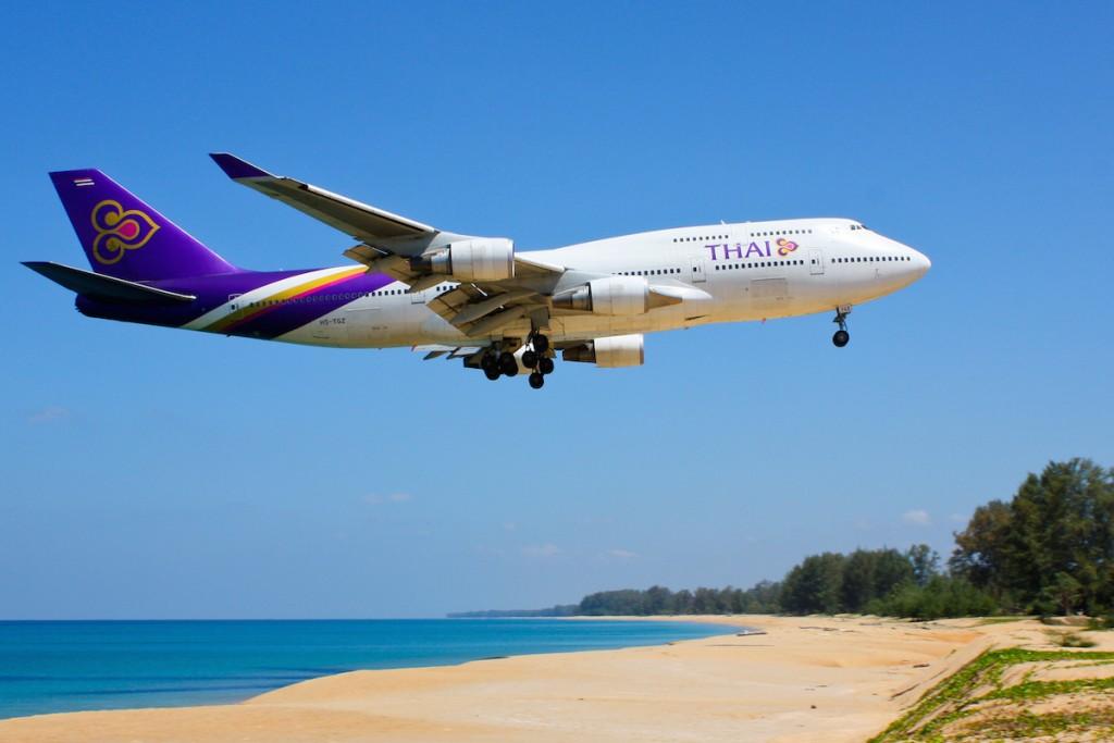 Thaiairways flight