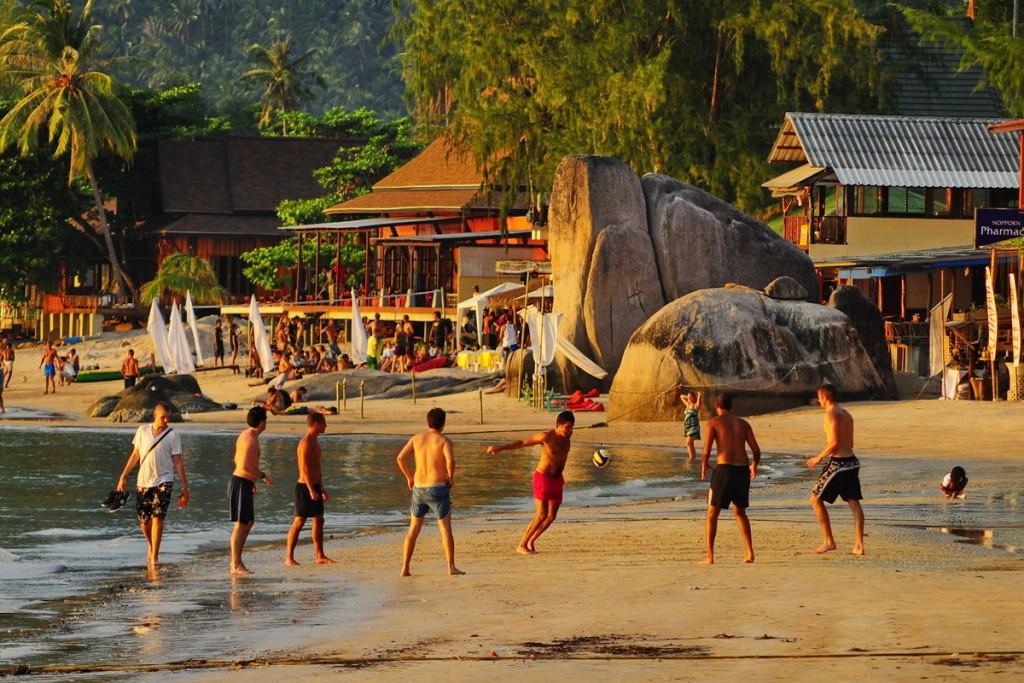 Thailand beach activities