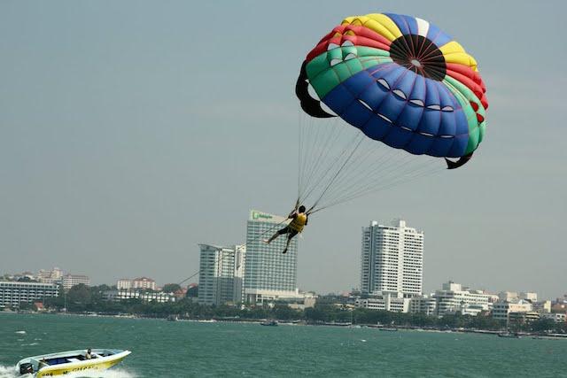 Paragliding thailand
